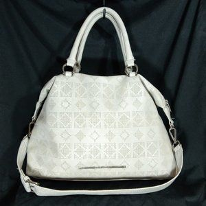 Steve Madden Perforated Grey Bag Has Bottom Wear